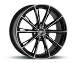 ADVANTI-RACING PREDATOR BLACK POLISHED Felgen