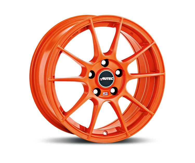 AUTEC WIZARD RACING ORANGE Felgen
