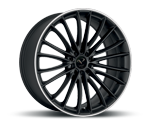 BARRACUDA LE MANS MATT BLACK PURESPORTS - COLOR TRIM WEISS Felgen