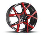 BARRACUDA PROJECT X GLOSS BLACK FLASHRED
