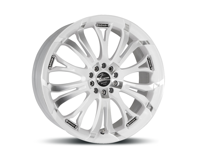 BARRACUDA TZUNAMEE RACING-WHITE Felgen