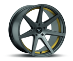 BARRACUDA VIRUS GUNMETAL UNDERCUT COLOR TRIM GELB Felgen