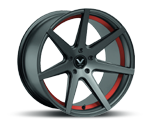 BARRACUDA VIRUS GUNMETAL UNDERCUT COLOR TRIM ROT Felgen