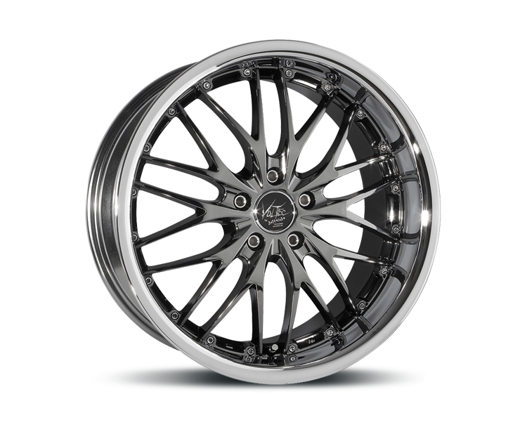 BARRACUDA VOLTEC T6 BLACKCHROM INOX LIP Felgen