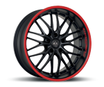 BARRACUDA VOLTEC T6 MATT BLACK PURESPORTS - COLOR TRIM ROT