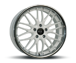 BARRACUDA VOLTEC T6 RACING-WHITE INOX LIP Felgen