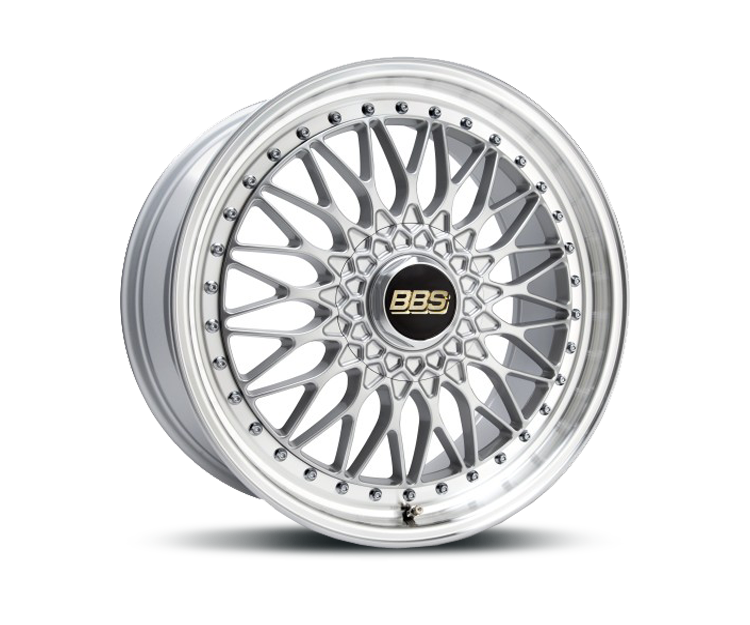 BBS SUPER RS BRILLANTSILBER DIAMANTGEDREHT Felgen