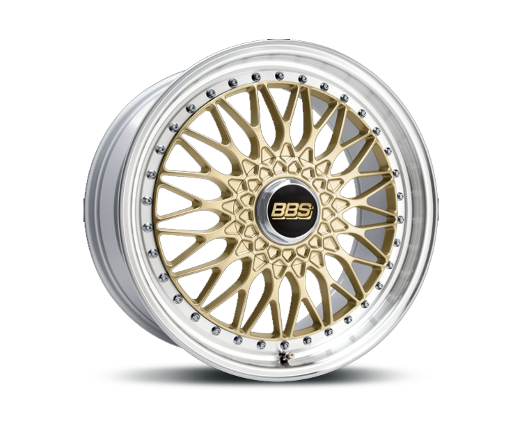 BBS SUPER RS GOLD DIAMANTGEDREHT Felgen