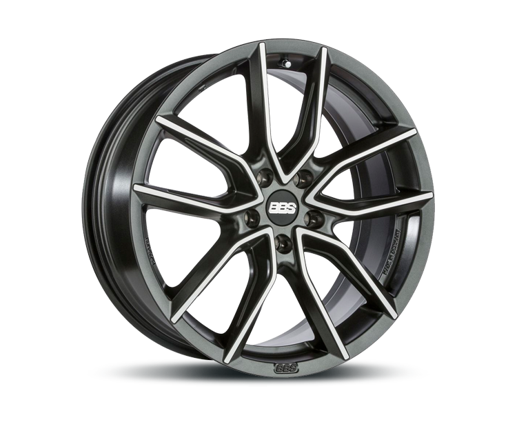 BBS XA NIGHT FEVER BLACK DIAMANTGEDREHT Felgen