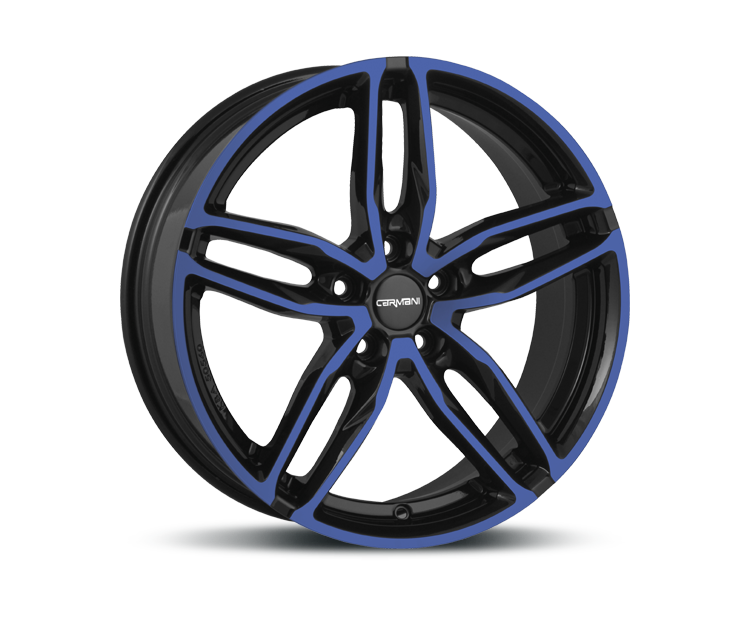 CARMANI 13 TWINMAX BLUE POLISH Felgen