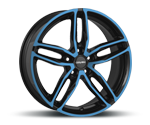 CARMANI 13 TWINMAX LIGHT BLUE POLISH Felgen