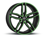 CARMANI 13 TWINMAX NEON GREEN POLISH Felgen