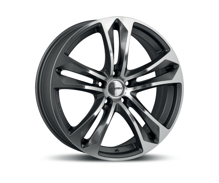 CARMANI 5 ARROW ANTHRACITE POLISH Felgen
