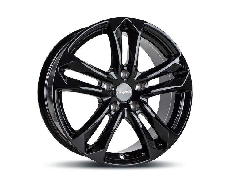 CARMANI 5 ARROW BLACK Felgen