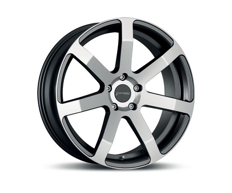 CORSPEED CHALLENGE HIGH GLOSS GUNMETAL POLISHED Felgen