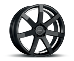 CORSPEED CHALLENGE MATT BLACK PURESPORTS - UNDERCUT COLOR TRIM WEISS Felgen