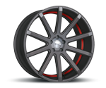 CORSPEED DEVILLE MATT GUNMETAL UNDERCUT COLOR TRIM ROT