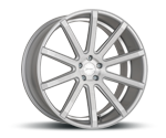 CORSPEED DEVILLE SILBER BRUSHED SURFACE UNDERCUT COLOR TRIM WEISS