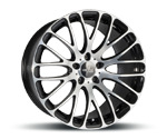 CORSPEED MONZA HIGH GLOSS BLACK POLISHED