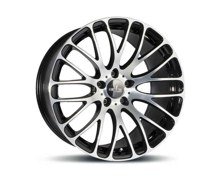 CORSPEED MONZA HIGH GLOSS BLACK POLISHED Felgen