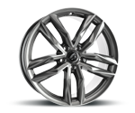 DAMINA-PERFORMANCE DM05 ANTHRAZIT POLISHED Felgen