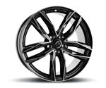 DAMINA-PERFORMANCE DM05 BLACK POLISHED Felgen
