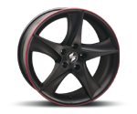ETABETA JOFIEL BLACK RED Felgen