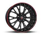 ETABETA PIUMA BLACK RED Felgen