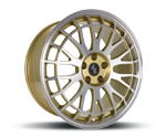 ETABETA UNIT GOLD LIP SPOKES POLISH Felgen