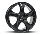 KESKIN KT9 MATT BLACK PAINTED Felgen