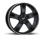 MAK TURISMO GLOSS BLACK MIRROR RING Felgen