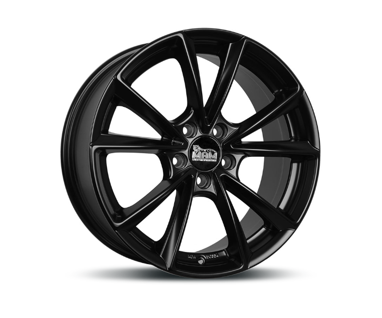 MAM A5 MATT BLACK PAINTED Felgen