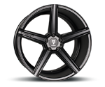 MBDESIGN KV1 DC BLACK Felgen