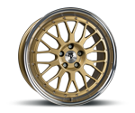 MBDESIGN LV1 GOLD POLISH Felgen