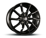 NB-WHEELS NB1 SCHWARZ Felgen