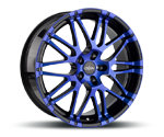 OXIGIN 14 OXROCK BLUE POLISH Felgen