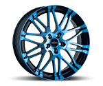 OXIGIN 14 OXROCK LIGHT BLUE POLISH Felgen