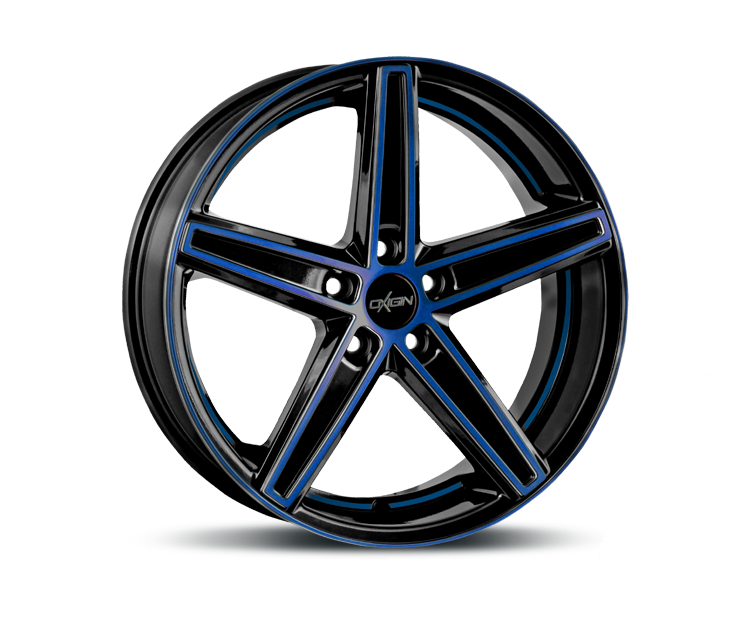 OXIGIN 18 CONCAVE BLUE POLISH Felgen