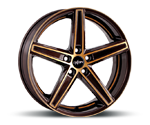 OXIGIN 18 CONCAVE BROWN GOLD POLISH Felgen