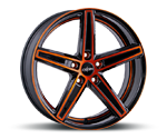 OXIGIN 18 CONCAVE ORANGE POLISH Felgen