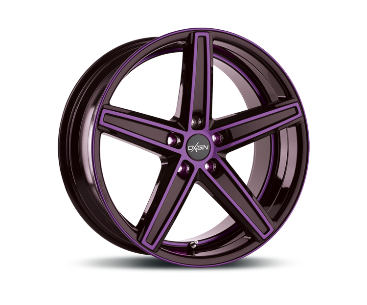 OXIGIN 18 CONCAVE PURPLE POLISH Felgen