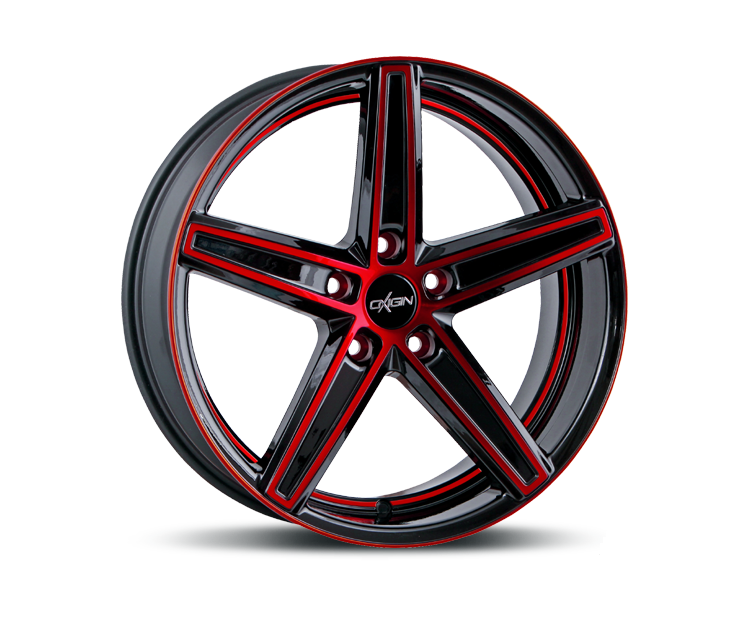 OXIGIN 18 CONCAVE RED POLISH Felgen