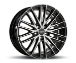 OXIGIN 19 OXSPOKE BLACK FULL POLISH Felgen