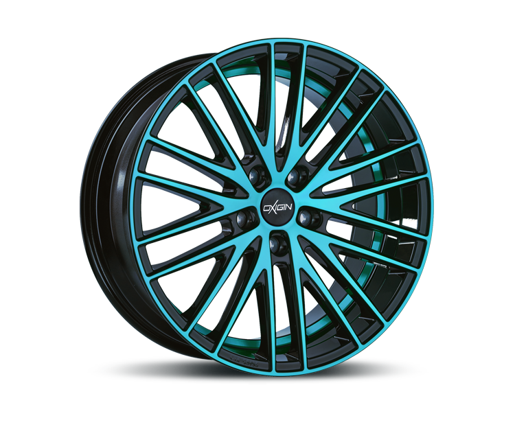 OXIGIN 19 OXSPOKE LIGHT BLUE POLISH Felgen