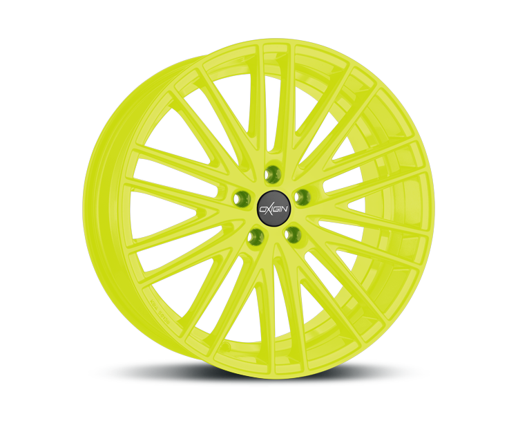 OXIGIN 19 OXSPOKE NEON YELLOW Felgen