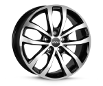OXXO HYPERION BLACK POLISHED Felgen