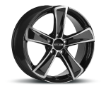 OXXO KALLISTO BLACK POLISHED Felgen