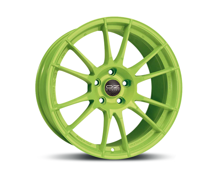 OZ ULTRALEGGERA HLT ACID GREEN Felgen
