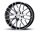 PLATIN P70 BLACK POLISHED Felgen
