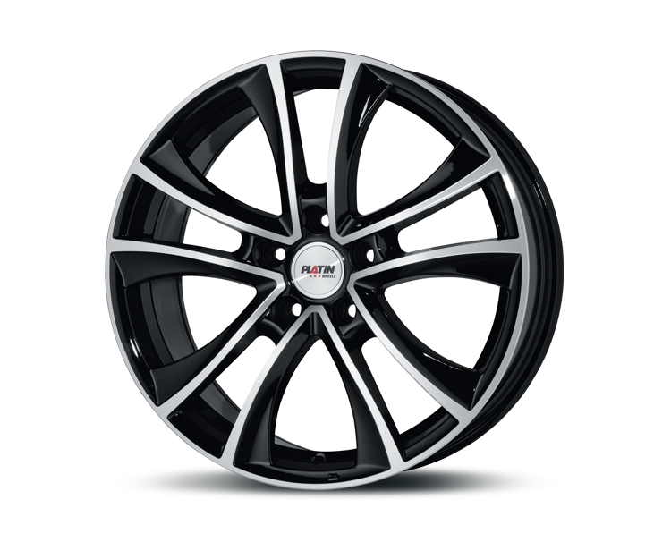 PLATIN P71 BLACK POLISHED Felgen
